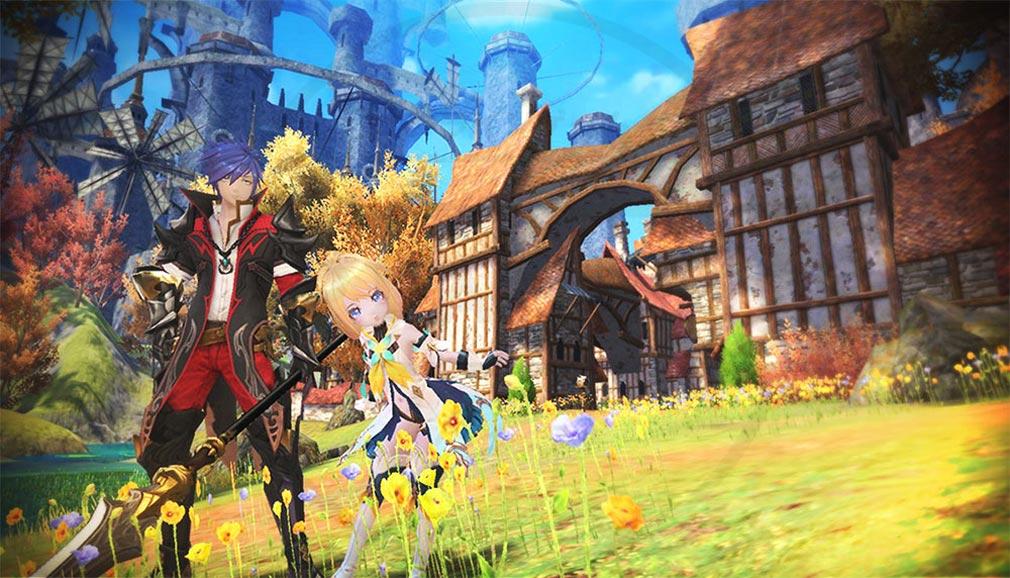 幻想神域2 -AURA KINGDOM- (幻神2) 『ドラグーン』『ニンフ』スクリーンショット