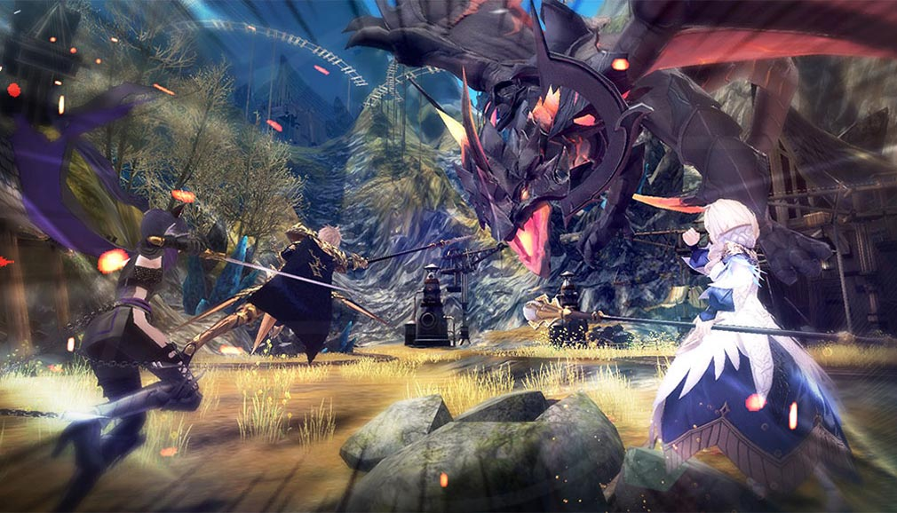幻想神域2 -AURA KINGDOM- (幻神2) バトルスクリーンショット