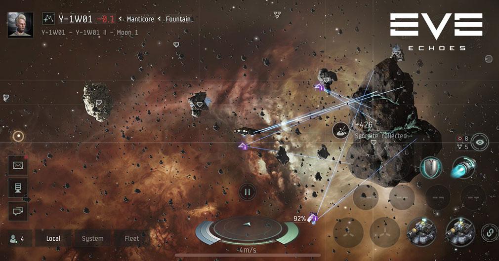 EVE Echoes(イヴ エコーズ) 星間探索スクリーンショット