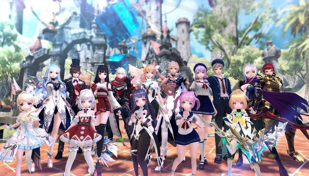 幻想神域2 -AURA KINGDOM- (幻神2) キャラクターと守護者スクリーンショット