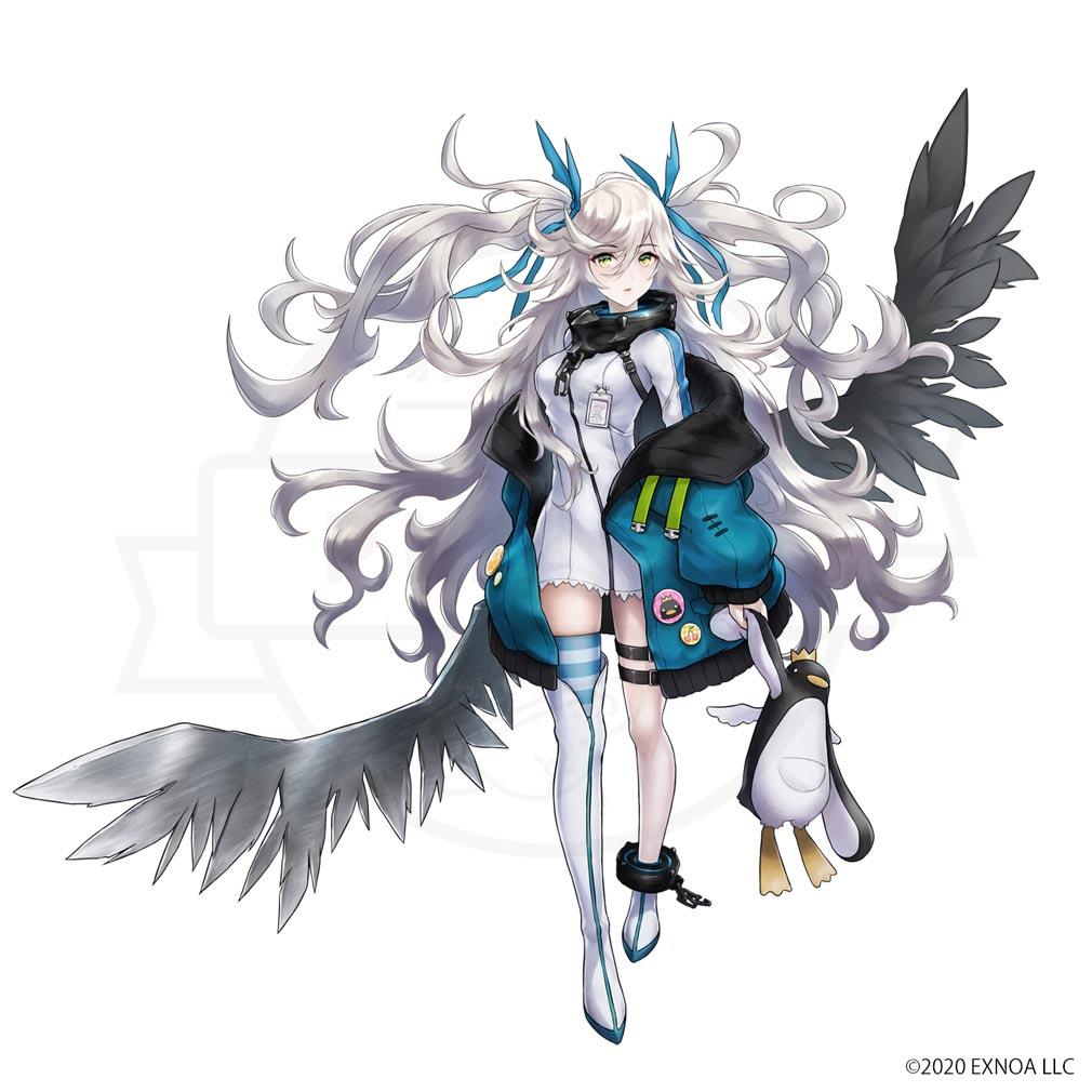 巨神と誓女 キャラクター『ライカ』紹介イメージ