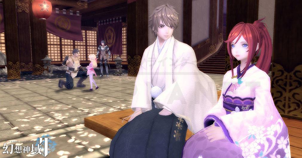 幻想神域2 -AURA KINGDOM- (幻神2) 着物姿のスクリーンショット