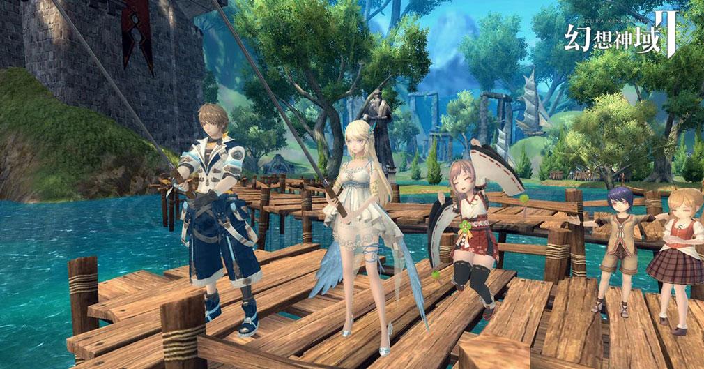 幻想神域2 -AURA KINGDOM- (幻神2) 釣りスクリーンショット