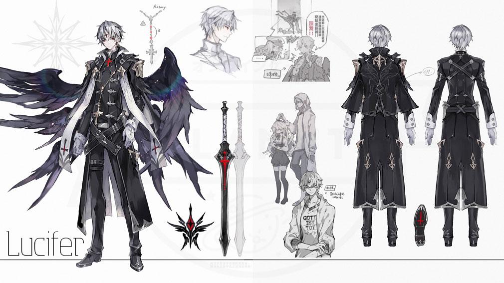 幻想神域2 -AURA KINGDOM- (幻神2) キャラクター『ルシファー』紹介イメージ