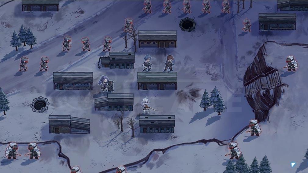 逆コーラップス:パン屋作戦(パン屋少女) 戦略バトルスクリーンショット