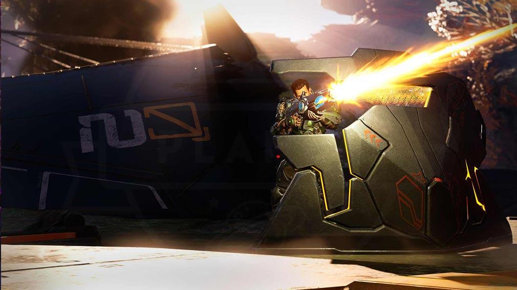 Crucible(クルーシブル) バズーカで攻撃する『ハンター』スクリーンショット