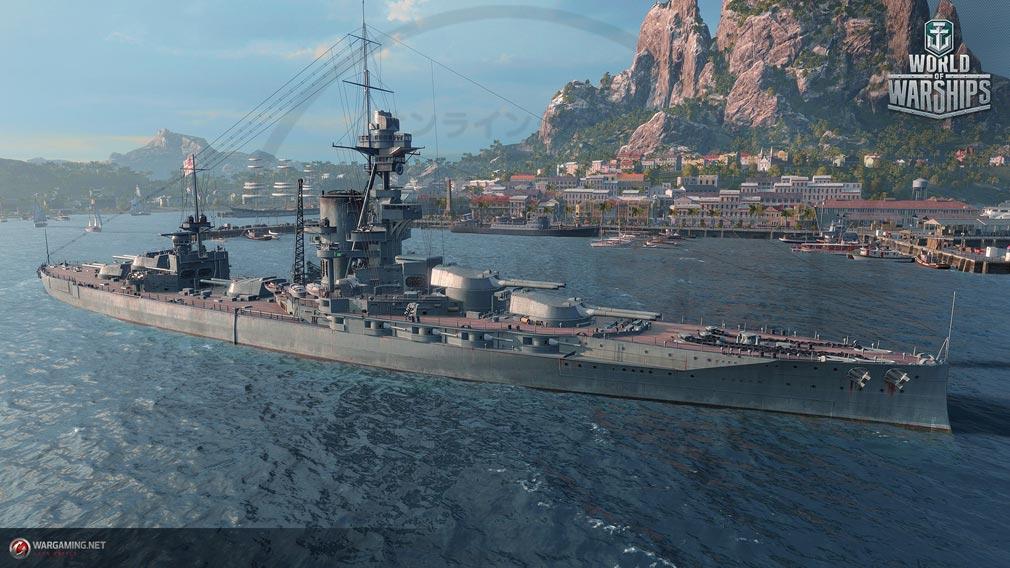 ワールドオブウォーシップ(World of Warships)WoWs 艦隊スクリーンショット
