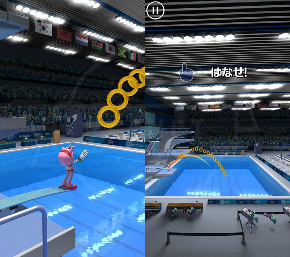 ソニック AT 東京2020オリンピック 『3m飛板飛込』スクリーンショット