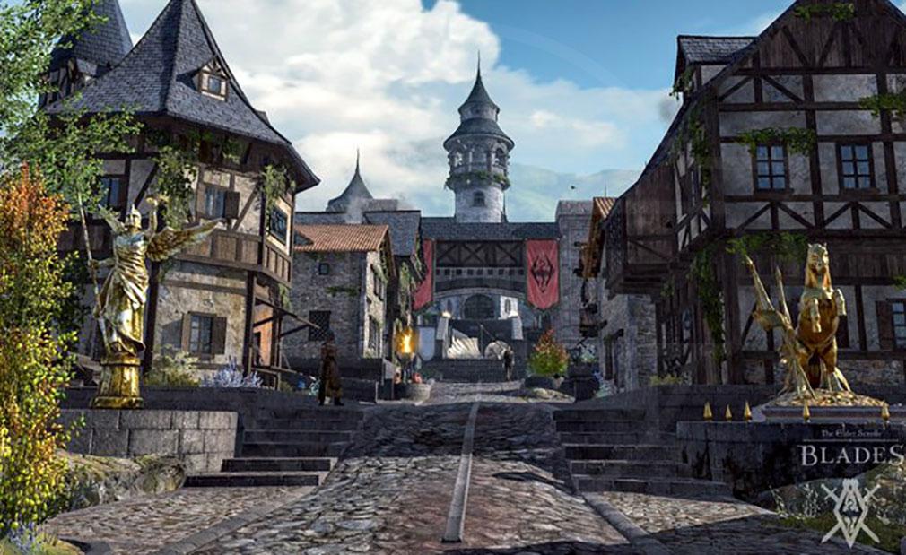 エルダースクロールズ:ブレイズ(The Elder Scrolls BLADES) 町を再建スクリーンショット