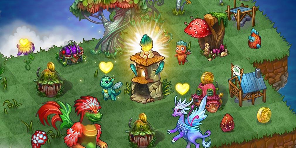 マージドラゴン(Merge Dragons) ガイアの彫像紹介イメージ