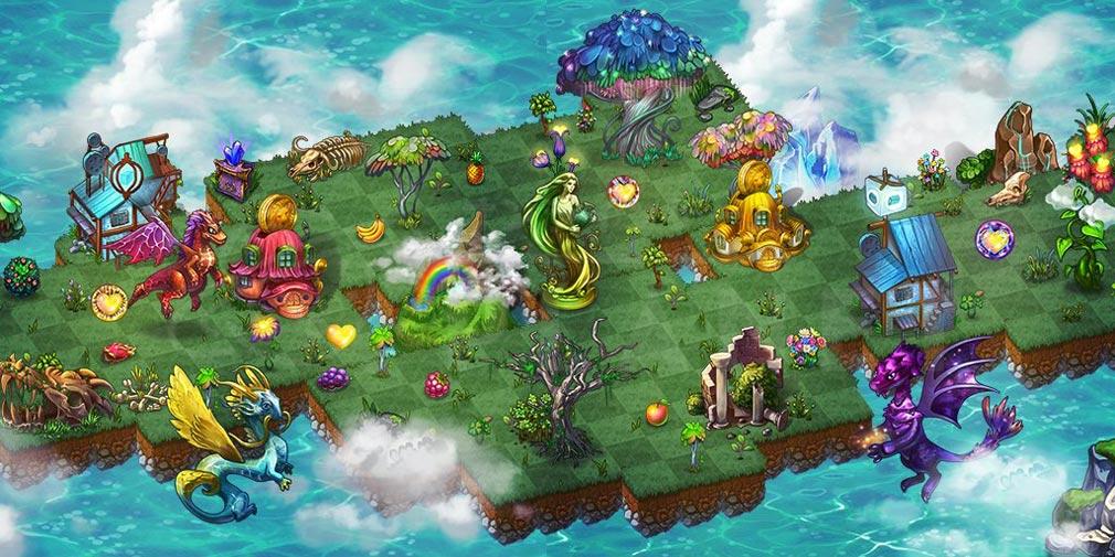 マージドラゴン(Merge Dragons) 土地スクリーンショット