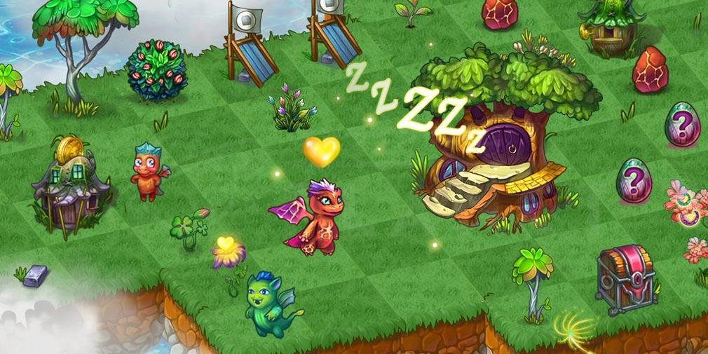 マージドラゴン(Merge Dragons) ミステリースクリーンショット