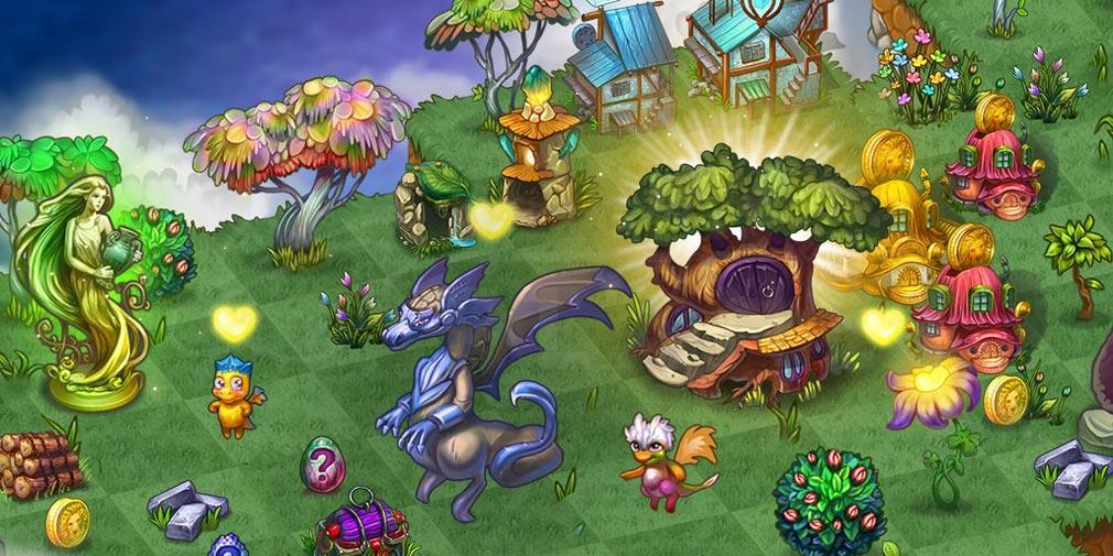 マージドラゴン(Merge Dragons) パズルステージスクリーンショット