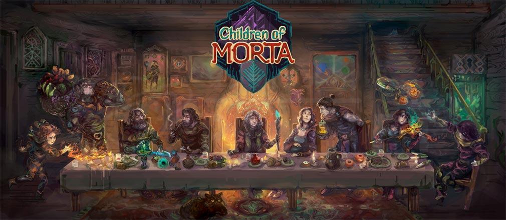 Children of Morta 家族の絆の物語 フッターイメージ