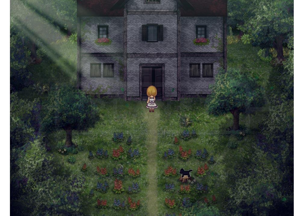 魔女の家 邸宅に入る少女『ヴィオラ』紹介イメージ