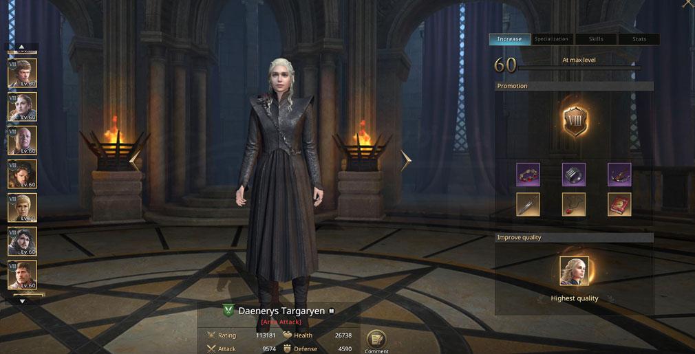 ゲームオブスローンズ 冬来たる(Game of Thrones Winter is Coming) 3DCGで描かれた『デナーリス』スクリーンショット