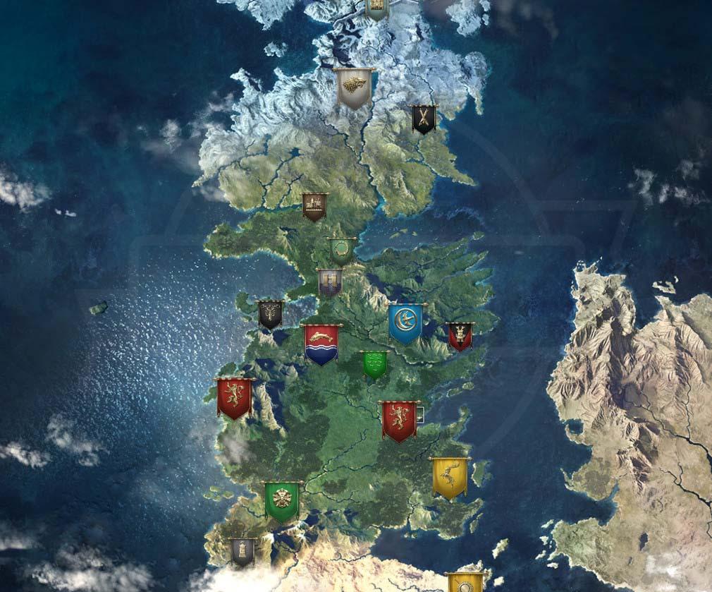 ゲームオブスローンズ 冬来たる(Game of Thrones Winter is Coming) ウェスタロス大陸PC版スクリーンショット