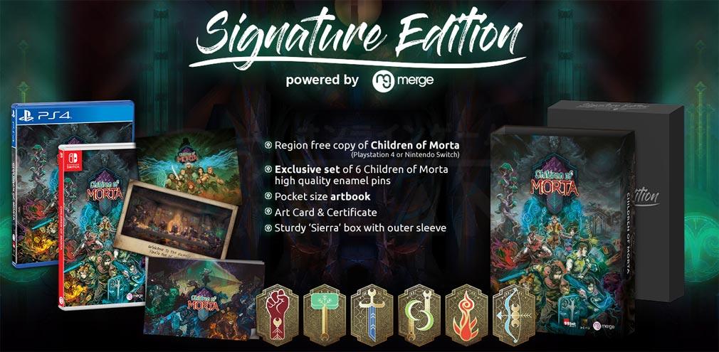 Children of Morta 家族の絆の物語 Switch、PS4パッケージ紹介イメージ