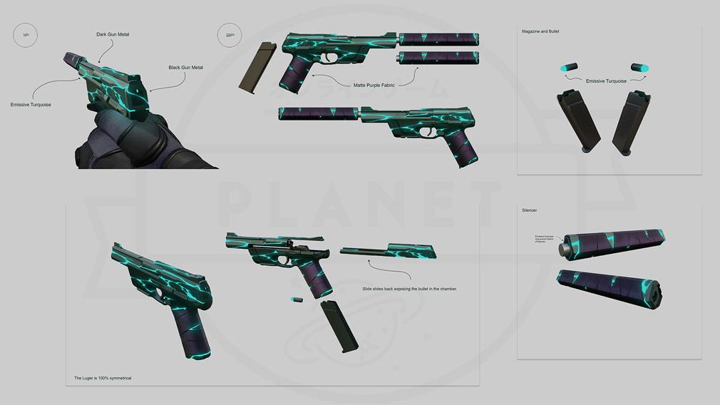 VALORANT(ヴァロラント) 武器アートワークス