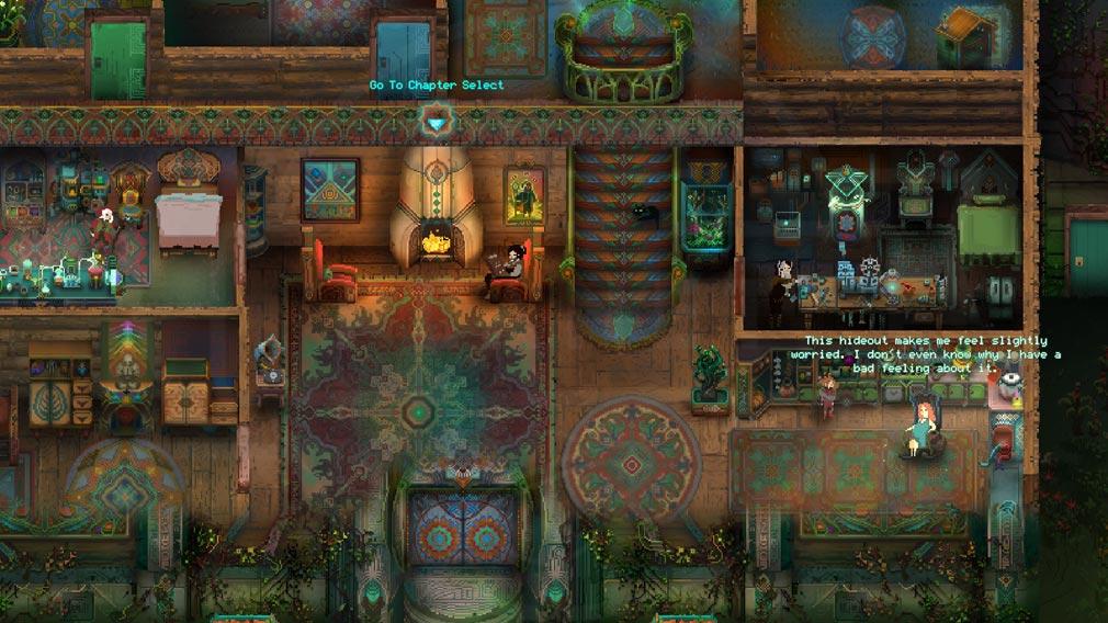 Children of Morta 家族の絆の物語 『家』の室内スクリーンショット
