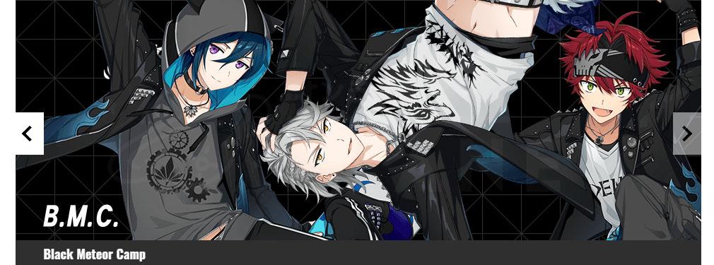 ダンキラ!!! オフライン版 キャラクター『B.M.C.』紹介イメージ