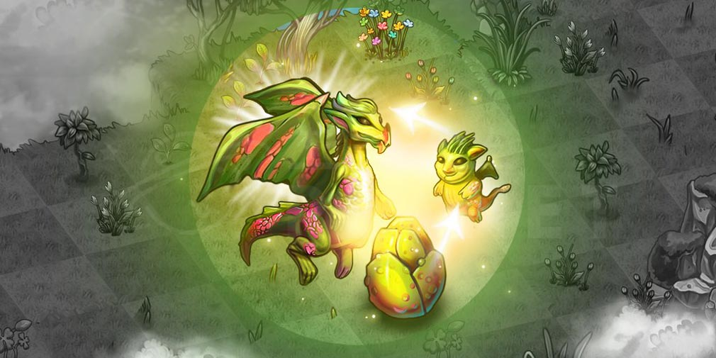マージドラゴン(Merge Dragons) ドラゴン進化紹介イメージ