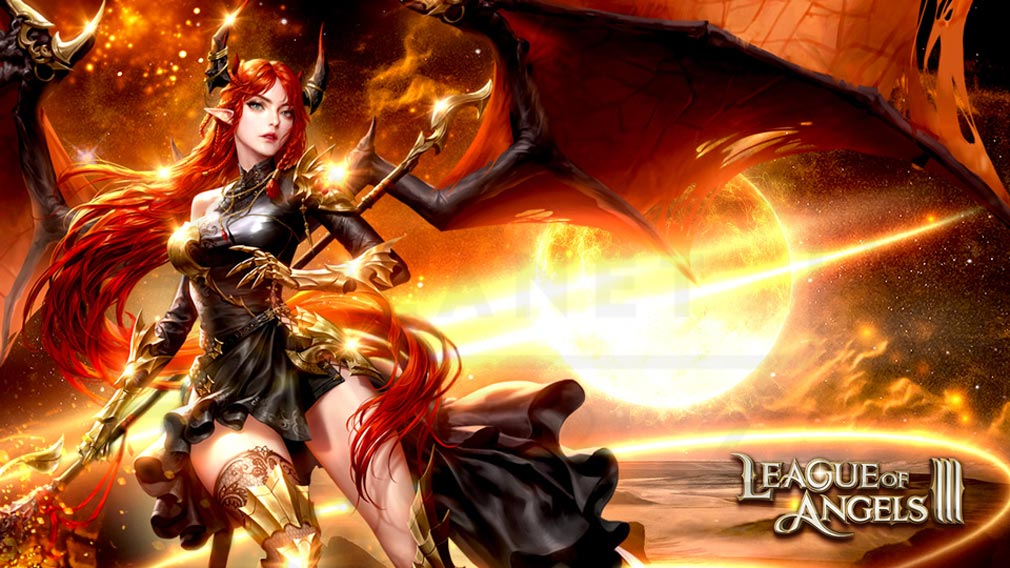 League of Angels3 リーグ オブ エンジェルズ3(LoA3) メインイメージ