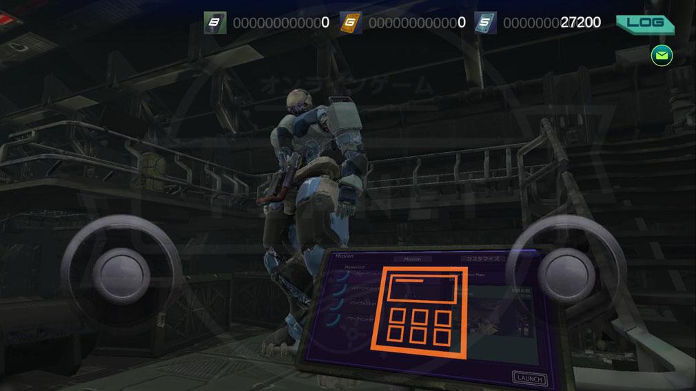 タイタンウォーズ(Titan Wars) 『ハンガー』スクリーンショット