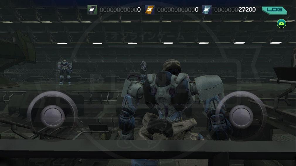 タイタンウォーズ(Titan Wars) 『ハンガー』内に並んでいるメカスクリーンショット