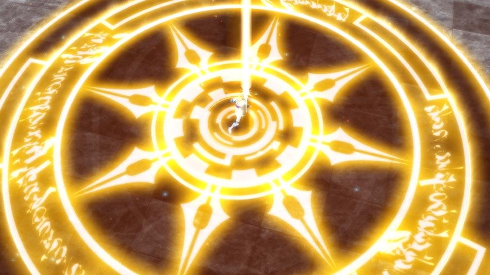 Fate/EXTELLA(フェイトエクストラ) キャラクター『ガウェイン』の宝具発動スクリーンショット