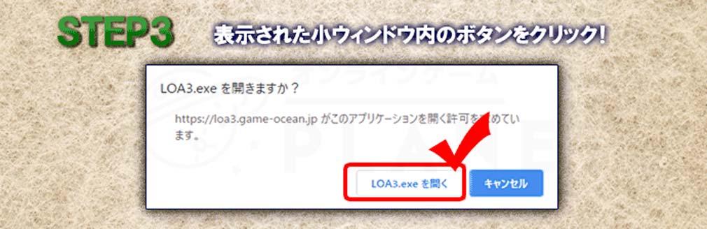 League of Angels3 リーグ オブ エンジェルズ3(LoA3) クライアントでプレイしようステップ3紹介イメージ
