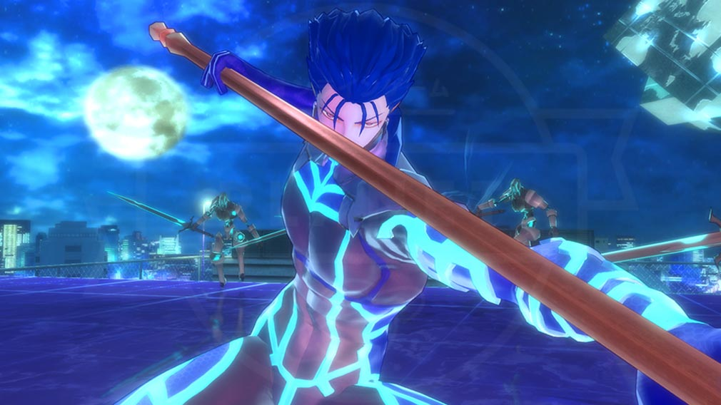 Fate/EXTELLA(フェイトエクストラ) キャラクター『クー・フーリン』スクリーンショット