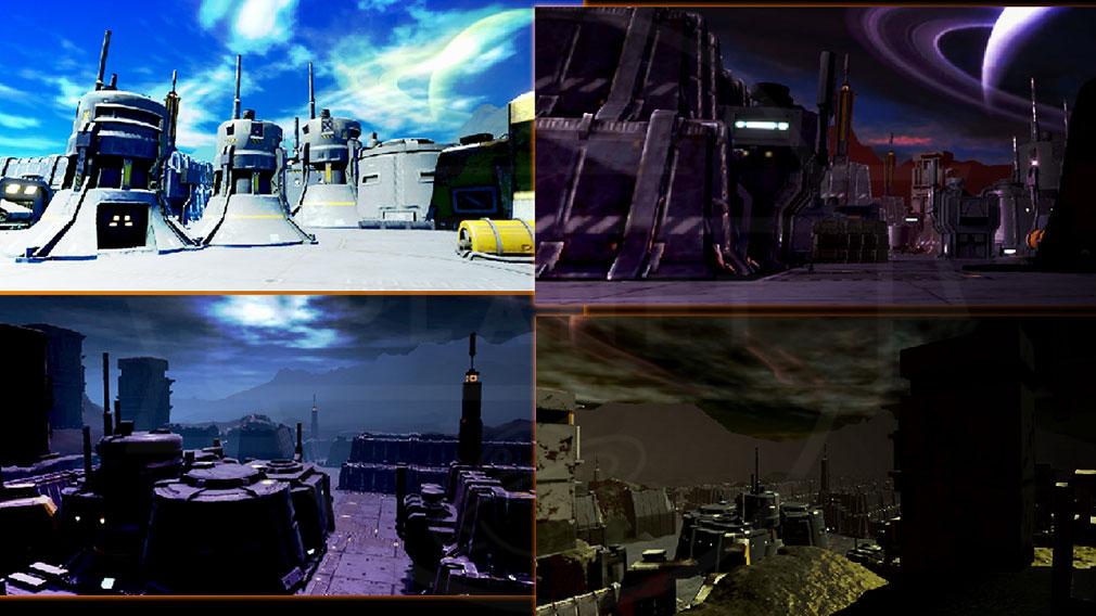 タイタンウォーズ(Titan Wars) 『バトルフィールド』紹介イメージ