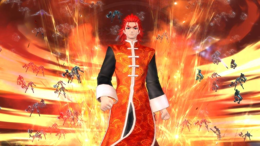 Fate/EXTELLA(フェイトエクストラ) キャラクター『李書文』の宝具発動スクリーンショット