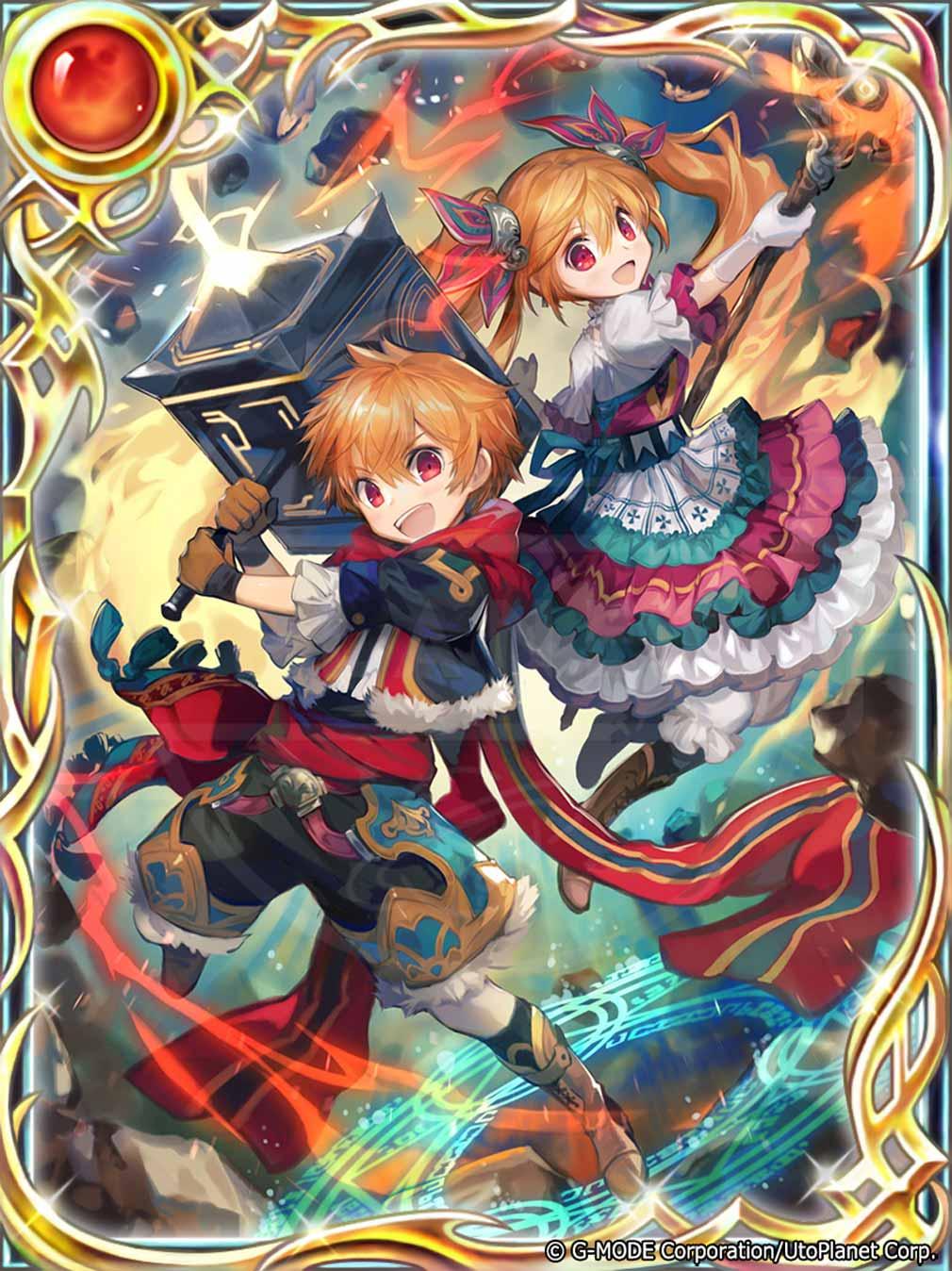 蒼天のスカイガレオン キャラクターカード『LEスルーズ&マグニ』紹介イメージ