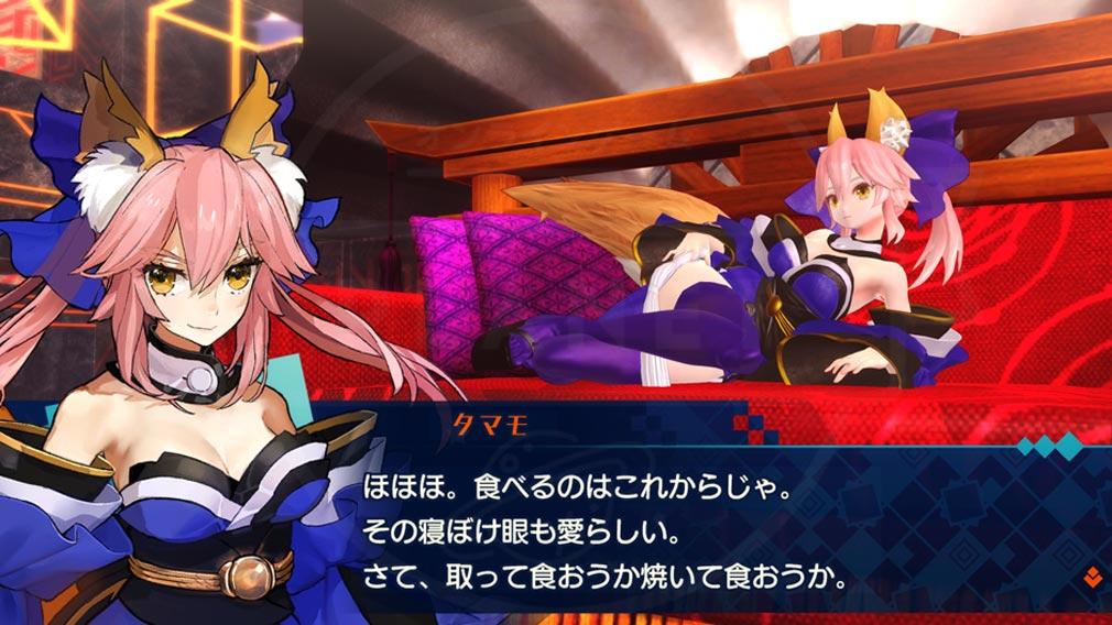 Fate/EXTELLA(フェイトエクストラ) キャラクター『玉藻の前』スクリーンショット