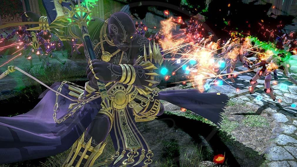 Fate/EXTELLA(フェイトエクストラ) サーヴァント『ダレイオス三世』バトルスクリーンショット