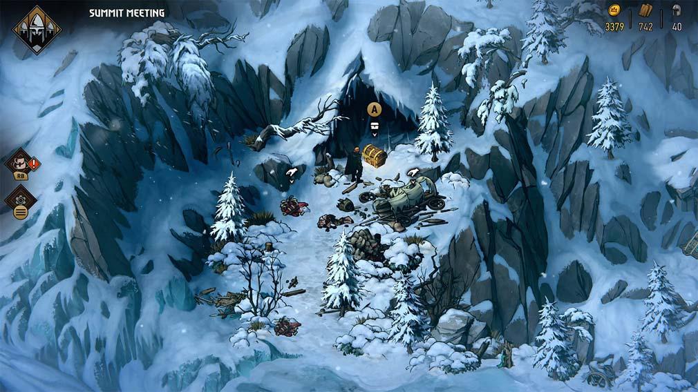 奪われし玉座:ウィッチャーテイルズ 『マハカム』での探索スクリーンショット