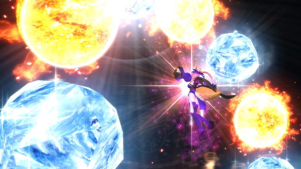 Fate/EXTELLA(フェイトエクストラ) キャラクター『玉藻の前』の宝具発動スクリーンショット