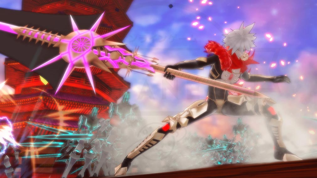 Fate/EXTELLA(フェイトエクストラ) キャラクター『カルナ』スクリーンショット
