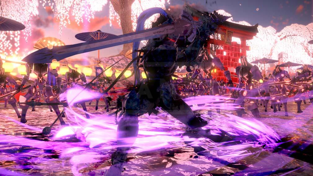 Fate/EXTELLA(フェイトエクストラ) サーヴァント『ランスロット』スクリーンショット