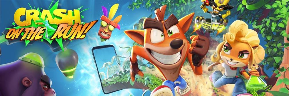 クラッシュ・バンディクー ブッとび!マルチワールド(Crash Bandicoot: On the Run) フッターイメージ