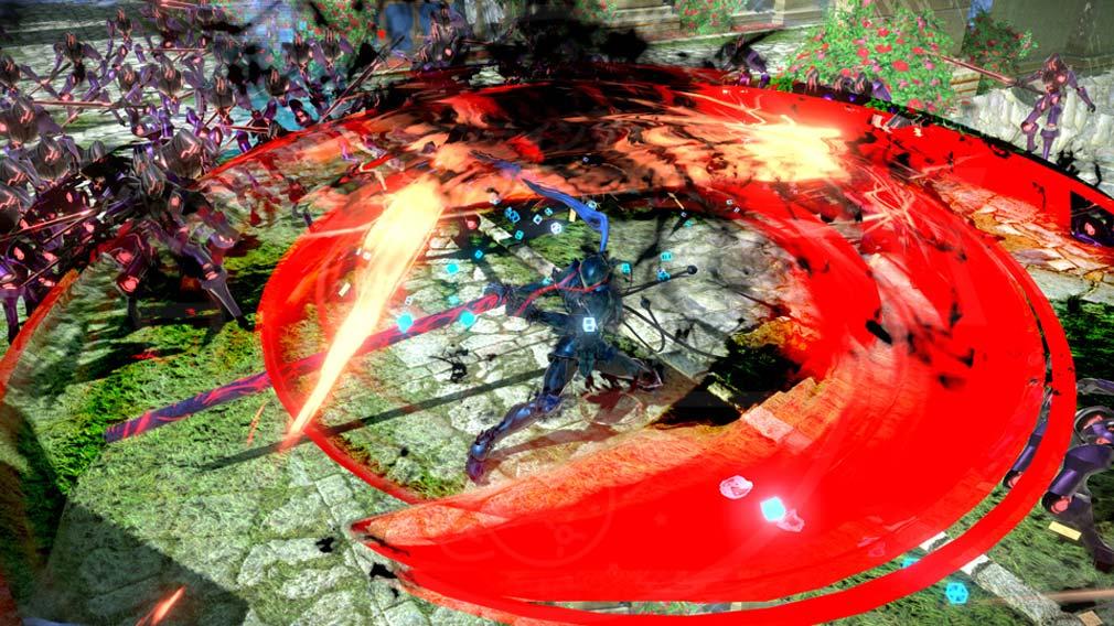 Fate/EXTELLA(フェイトエクストラ) サーヴァント『ランスロット』バトルスクリーンショット