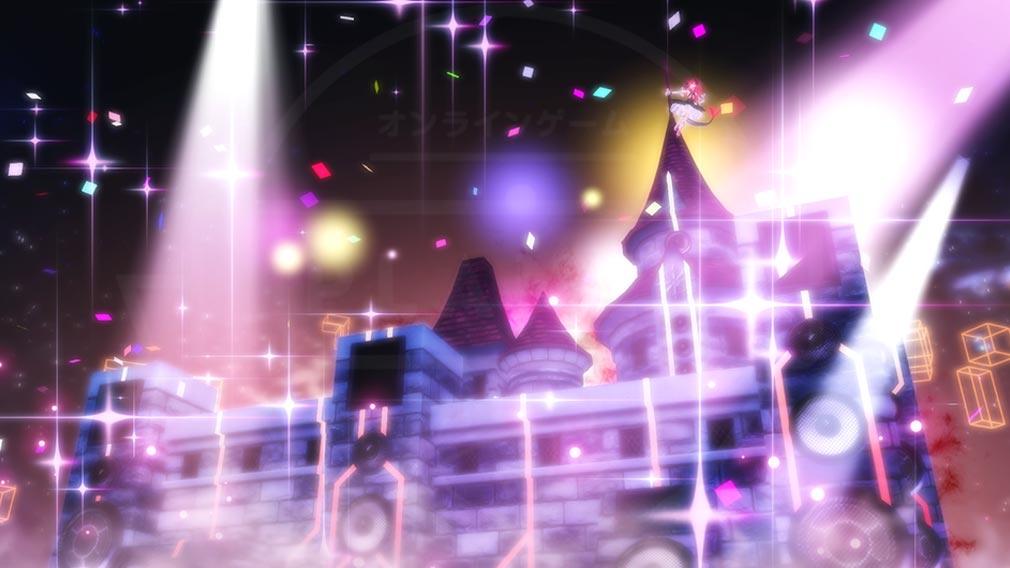 Fate/EXTELLA(フェイトエクストラ) キャラクター『エリザベート=バートリー』の宝具発動スクリーンショット