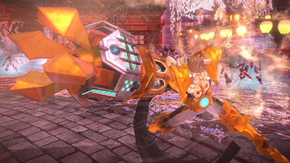 Fate/EXTELLA(フェイトエクストラ) サーヴァント『カール大帝』バトルスクリーンショット