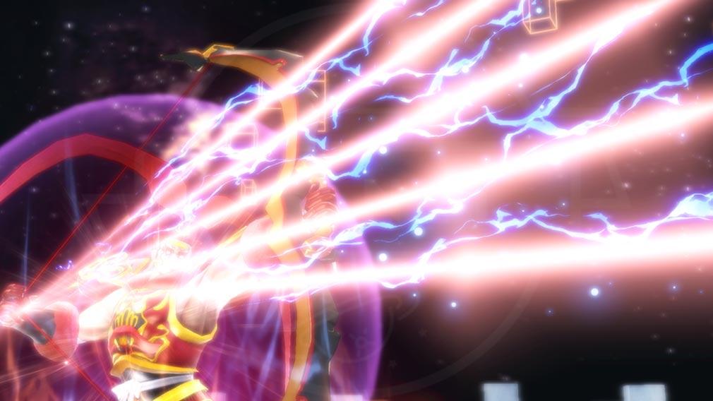 Fate/EXTELLA(フェイトエクストラ) キャラクター『呂布奉先』の宝具発動スクリーンショット