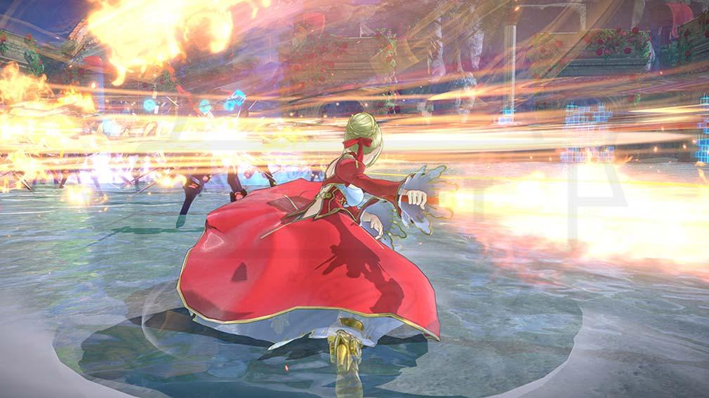 Fate/EXTELLA(フェイトエクストラ) サーヴァント『ネロ・クラディウス』バトルスクリーンショット