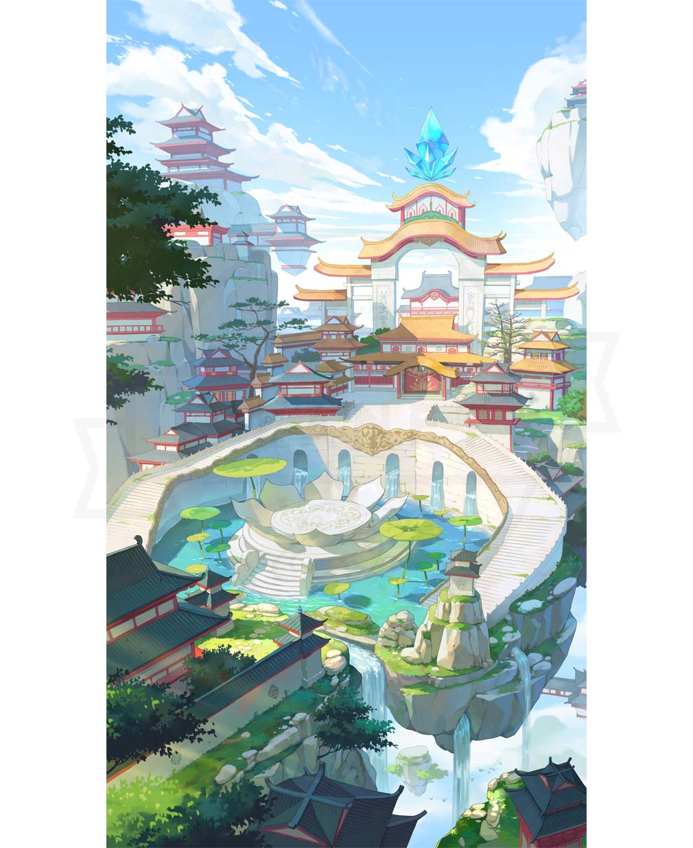 エースアーチャー 『蓬莱仙境』イラストイメージ