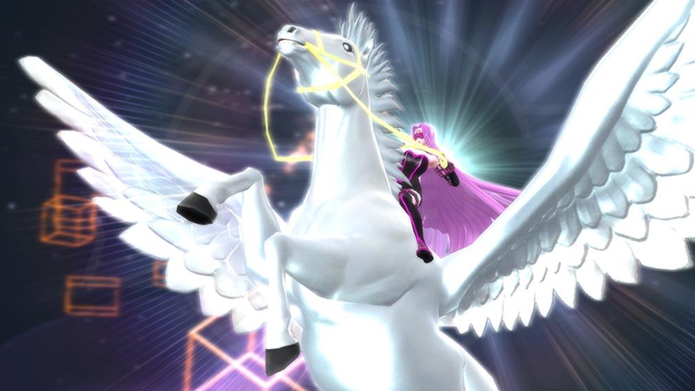 Fate/EXTELLA(フェイトエクストラ) キャラクター『メドゥーサ』の宝具発動スクリーンショット