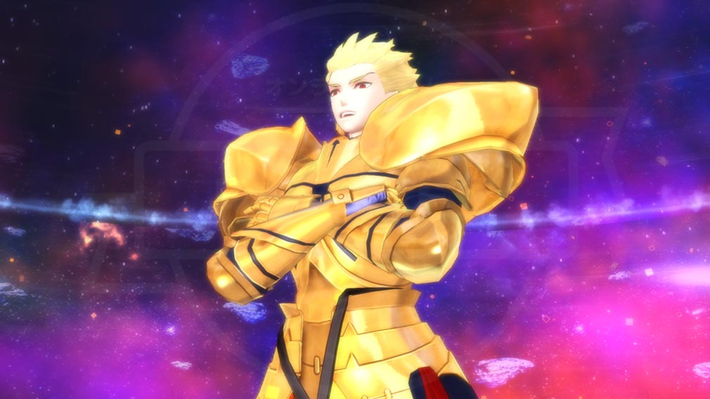 Fate/EXTELLA(フェイトエクストラ) キャラクター『ギルガメッシュ』スクリーンショット